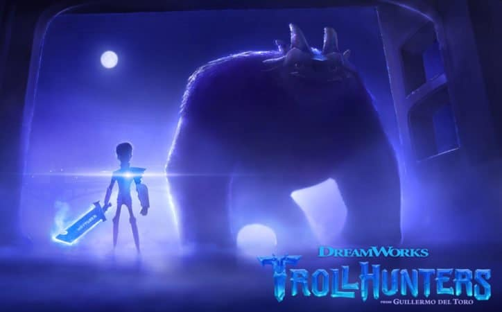 Guillermo del Toro's TROLLHUNTERS from DreamWorks on Netflix in 2016 5