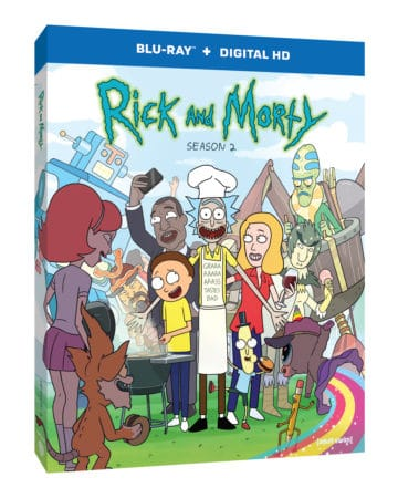 Adult Swim's Rick and Morty: The Complete Second Season Gets Schwifty on Blu-ray™ and DVD on June 7 1