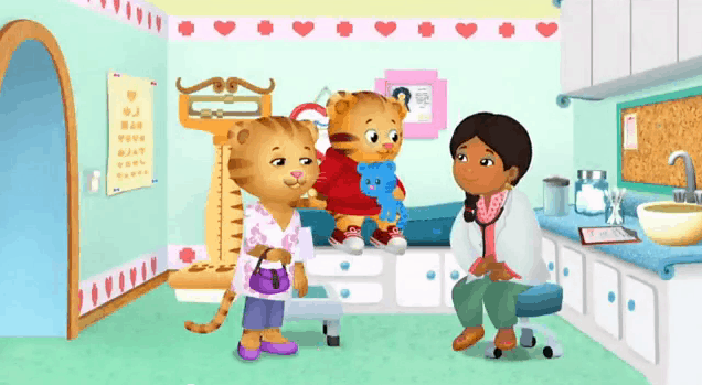 DANIEL TIGER'S NEIGHBORHOOD: DANIEL GOES TO THE DOCTOR 1