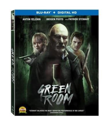 GREEN ROOM On Blu-ray and DVD July 12 3