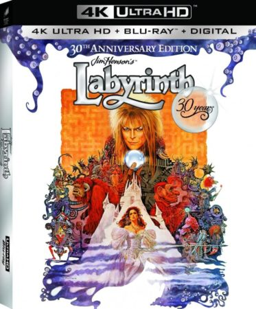 CELEBRATE THE VISIONARY TALENTS OF JIM HENSON AND DAVID BOWIE WITH THE LABYRINTH 30TH ANNIVERSARY THEATRICAL RE-RELEASE AND ALL-NEW SPECIAL ANNIVERSARY EDITIONS 1