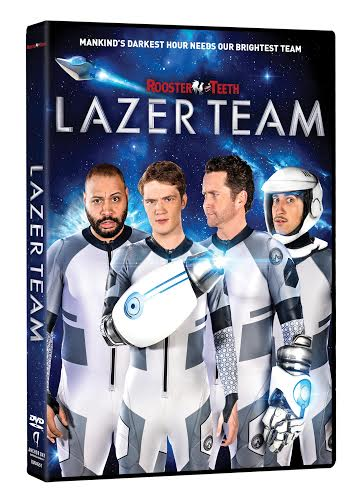 LAZER TEAM Available on DVD August 2, 2016 5