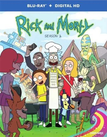 RICK AND MORTY SEASON 2 CONTEST SQUANCH. 16