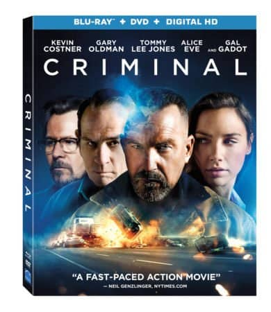 CRIMINAL Arrives On Blu-ray, DVD, & 4K Ultra-HD 7/26 and Digital HD 7/12 5