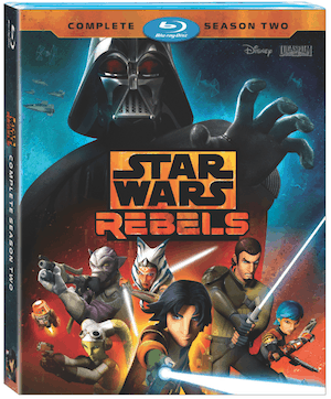 Star Wars Rebels: Season 2 - on Blu-ray and DVD August 30 1