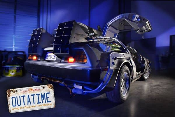 OUTATIME: SAVING THE DELOREAN TIME MACHINE Official Launch Party July 9th at Petersen Automotive Museum! 4