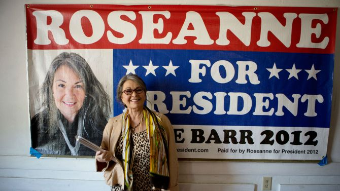 ROSEANNE FOR PRESIDENT opens on July 1! Here's a trailer! 3