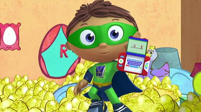 SUPER WHY! GOLDILOCKS AND THE THREE BEARS 3