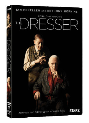 The Dresser -Starring Ian McKellen and Anthony Hopkins - Available on DVD and Digital HD July 12 5