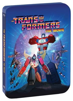 The TRANSFORMERS: THE MOVIE Limited Edition 30th Anniversary Steelbook coming Sept 13th 2
