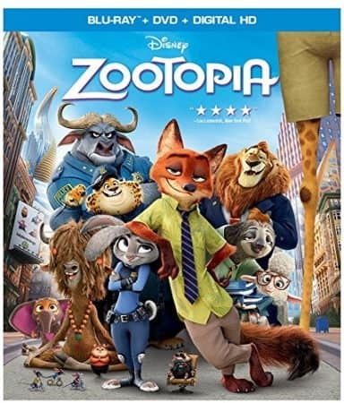 ZOOTOPIA [Blu-ray review] 1