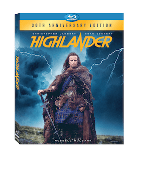 Highlander 30th Anniversary Edition - Arriving On DVD & Blu-ray 9/27 10