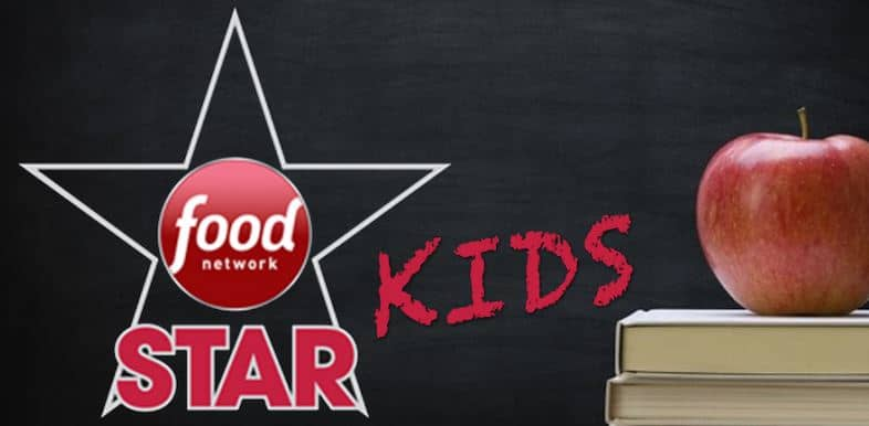 BEFORE THE KIDS HEAD BACK TO SCHOOL CATCH THE NEXT GENERATION OF CULINARY HOPEFULS ON FOOD NETWORK STAR KIDS 1