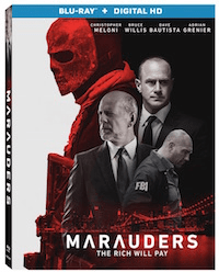 MARAUDERS arrives on Blu-ray, DVD, and Digital HD September 13 1
