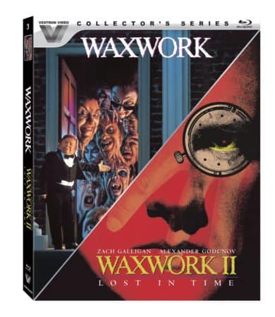 Vestron Horror Classics Waxwork and Waxwork II: Lost in Time coming to Blu on October 18th 11