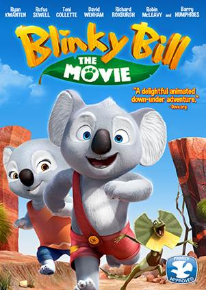 """Blinky Bill: The Movie,"" starring Ryan Kwanten, Rufus Sewell, Toni Collette, Robin McLeavy, opens in U.S. cinemas on 10/7/16 l Movie trailer released ! 6"
