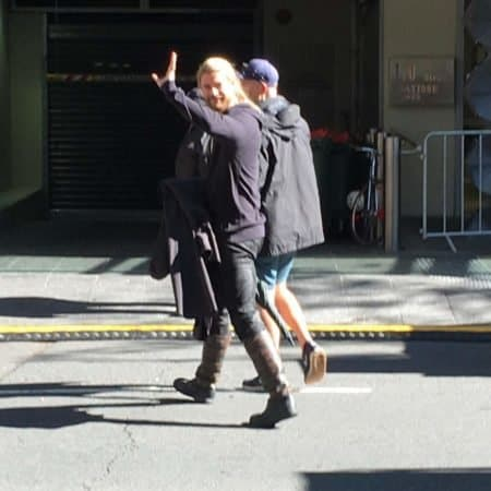 Our pals in Australia have sent AndersonVision some Thor: Ragnarok set pics 11