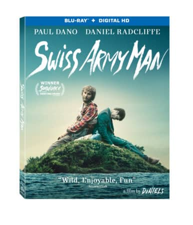 Swiss Army Man Starring Paul Dano and Daniel Radcliffe On DVD and Blu-ray On October 4 5