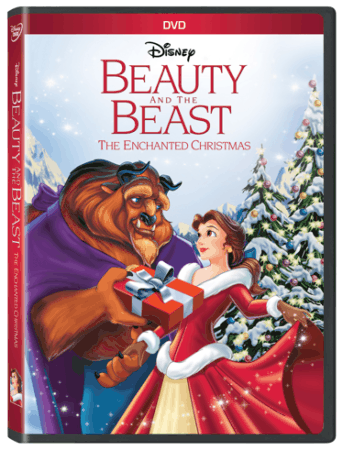 Beauty and the Beast The Enchanted Christmas on Disney DVD October 25th 1