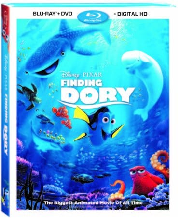 Disney/Pixar's FINDING DORY on Digital HD Oct 25 and Blu-ray Nov 15 1