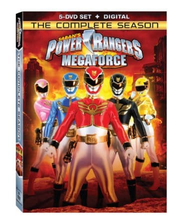 POWER RANGERS MEGAFORCE: THE COMPLETE SEASON 6