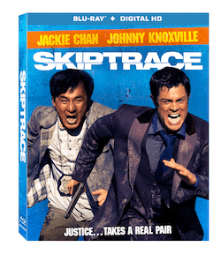 Skiptrace Starring Jackie Chan and Johnny Knoxville Arrives On Blu-ray, DVD, & Digital HD 10/25 12