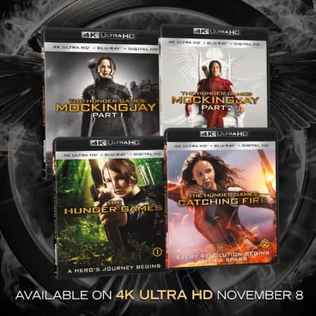 The Hunger Games 4K Ultra HD Combo Pack Arrives on November 8th! 6