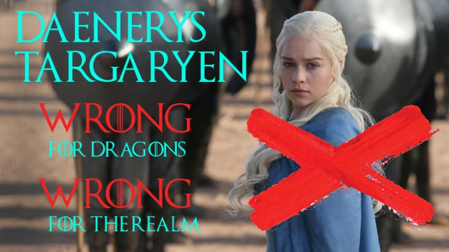 THE GOT PARTY has launched some nasty attack ads. 5