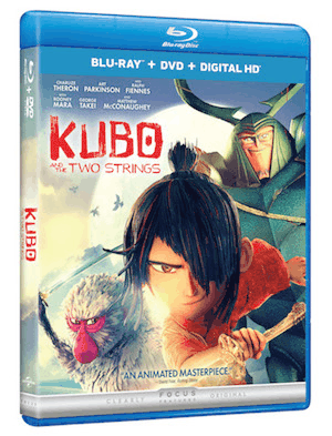 Animated Epic Adventure Kubo and the Two Strings Arrives on Digital HD 11/8 and Blu-ray, 3D, Blu-ray, DVD, and On Demand 11/22 12