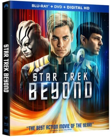 STAR TREK BEYOND arrives on Blu-ray/DVD/On Demand November 1st and Digital HD October 4th 1
