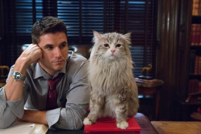 M118 Robbie Amell and Mr. Fuzzypants tar in EuropaCorp's