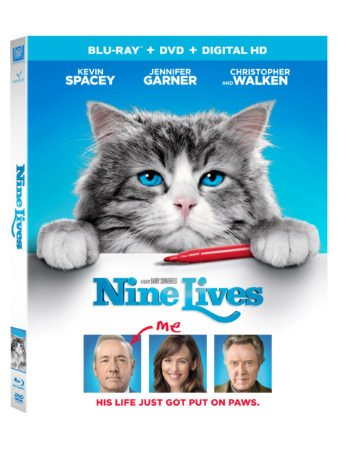 Celebrate National Cat Day 10/29 - Nine Lives Now on DHD and Blu-ray 11/1! 1