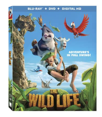 Animated Comedy The Wild Life Arrives on Blu-ray Combo Pack, DVD, and On Demand November 29 and Digital HD November 22! 4