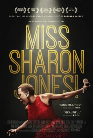MISS SHARON JONES! Available on Digital HD on October 25, 2016, On Demand and DVD November 1, 2016 1