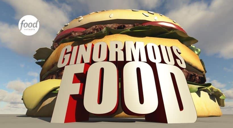 GINORMOUS FOOD - Premieres Friday, January 6 with its Louisville episode 1