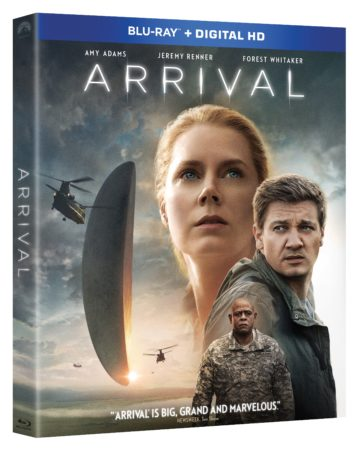 ARRIVAL will be available on 4K Ultra HD and Blu-ray February 14th and Digital HD January 31st 7