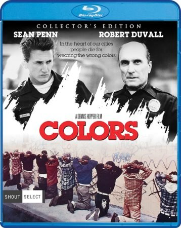 COLORS Collector's Edition (featuring Unrated Cut of the Movie) debuts for the first time on Blu-ray Marchc 7, 2017 from Shout Select Home Entertainment Series 5