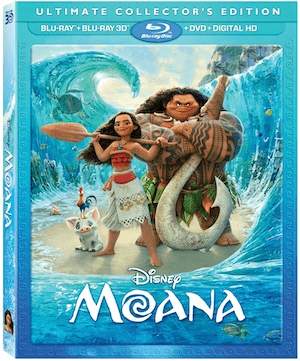 MOANA is coming to BLU-RAY on March 7th 1