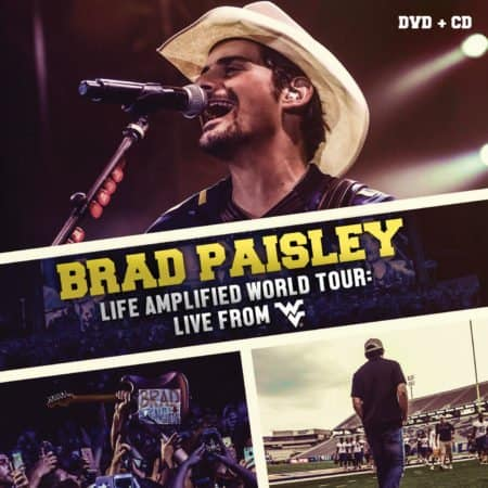 BRAD PAISLEY: LIFE AMPLIFIED WORLD TOUR LIVE FROM WEST VIRGINIA 8