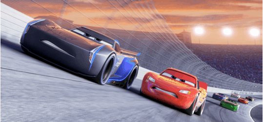 CARS 3 got an extended look during the College Football National Playoffs 8