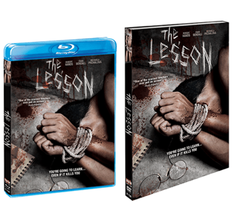 """The Lesson,"" a film by Ruth Platt, will hit home entertainment shelves, digital HD and On-Demand on March 7 from Scream Factory. 1"
