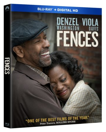 FENCES arrives on Blu-ray Combo Pack March 14th and Digital HD February 24th 17