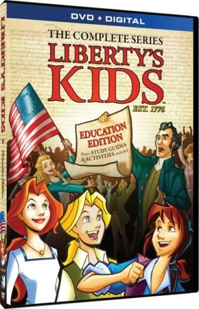 LIBERTY'S KIDS: EDUCATION EDITION 12