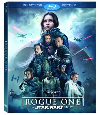 ROGUE ONE: A STAR WARS STORY on Digital HD March 24 and Blu-ray April 4 1