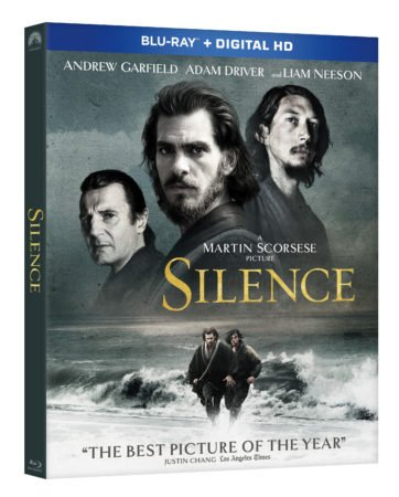 SILENCE arrives on Blu-ray Combo Pack March 28th and on Digital HD March 14th 3