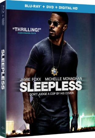 SLEEPLESS arrives on Digital HD on April 4 and on Blu-ray, DVD and On Demand on April 18 13