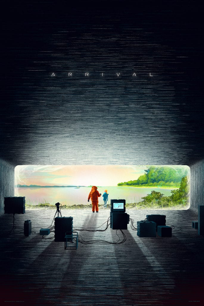 MONDO unveils a new print to celebrate Arrival's home video release 3