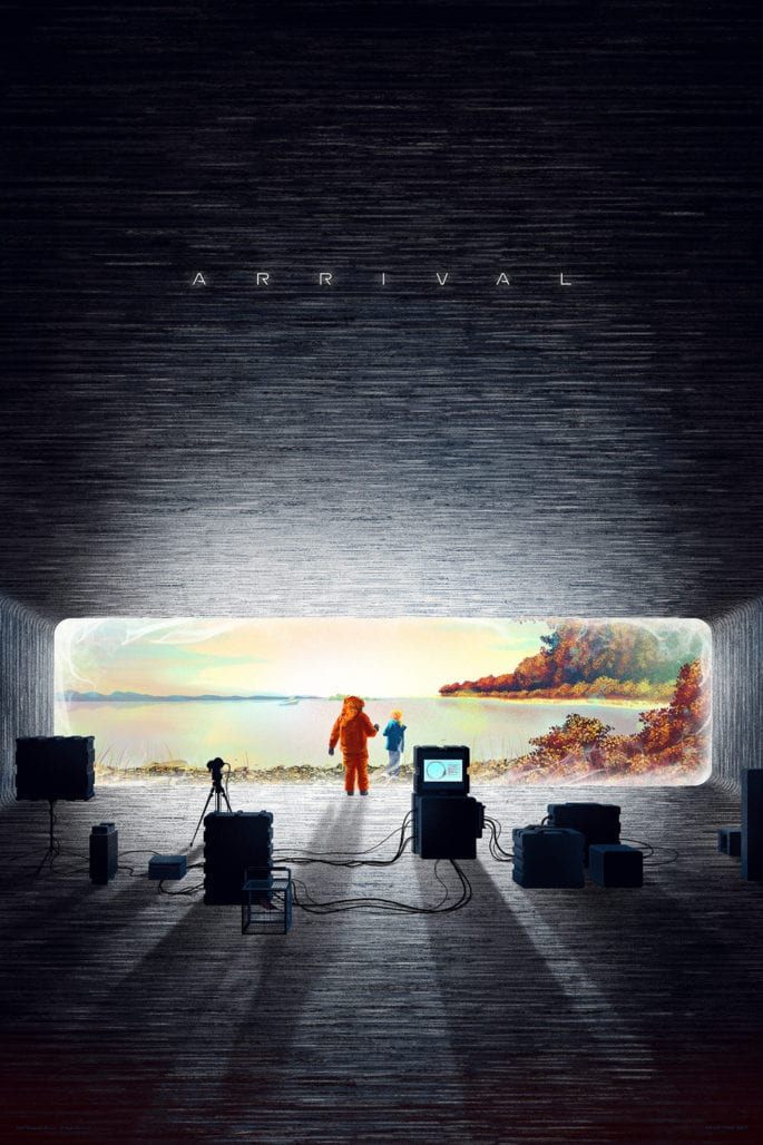 MONDO unveils a new print to celebrate Arrival's home video release 5