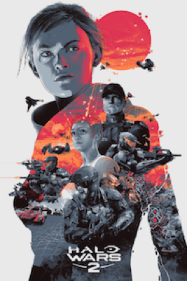 CHECK OUT THESE HALO WARS 2 EXCLUSIVE PRINTS! FIND OUT HOW TO SNAG THEM! 5