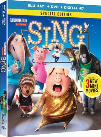 SING Blu-ray/DVD Release + ALL NEW MINI-MOVIE SNEAK PEAK – Available 3/21 11